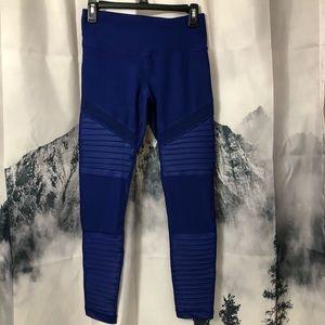 90 Degree By Reflex Mesh Panel Legging Blue